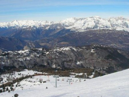 Itálie - lyže - Via Lattea / Sestriere