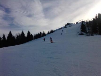 Itálie - lyže - Val Di Fiemme / Obereggen