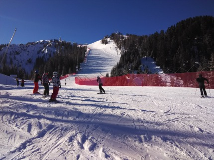 Itálie - lyže - Tarvisio