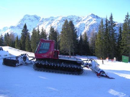 Itálie - lyže - Sella Nevea
