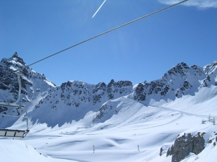 Itálie - lyže - Val Senales - Schnalstal - Trafoi - Unterfrau