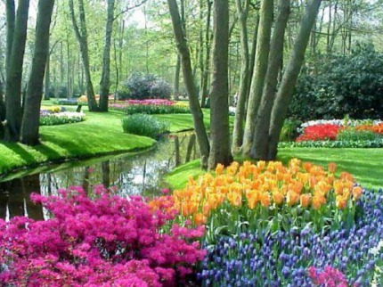 Jarní Holandsko