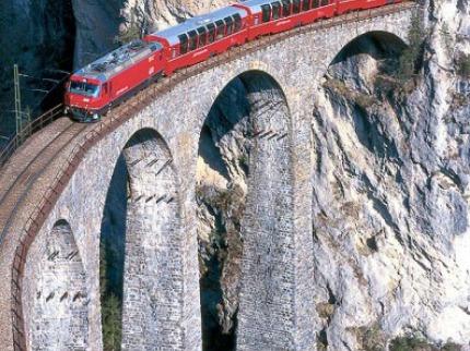 Švýcarské Železnice - Světové Dědictví Unesco
