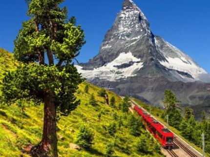 ©výcarský Wallis, pobyt v hotelu s  výlety vysoko v horách