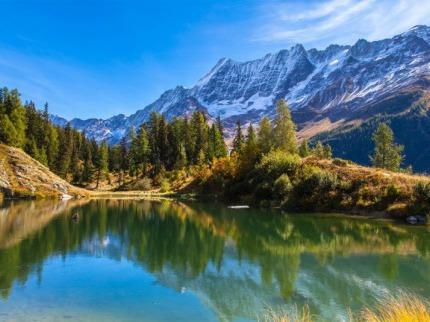 Mont Blanc Express,  ohromující panorama Wallisu a Leukerbad