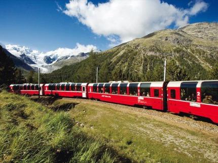 Bernina Express a Svatý Moøic