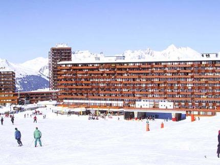 Francie - lyže - La Plagne
