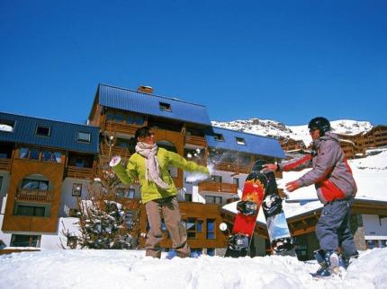 Francie - lyže - Val Thorens
